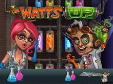 Играйте сейчас бесплатно в Безумный доктор Ватт в казино Вулкан